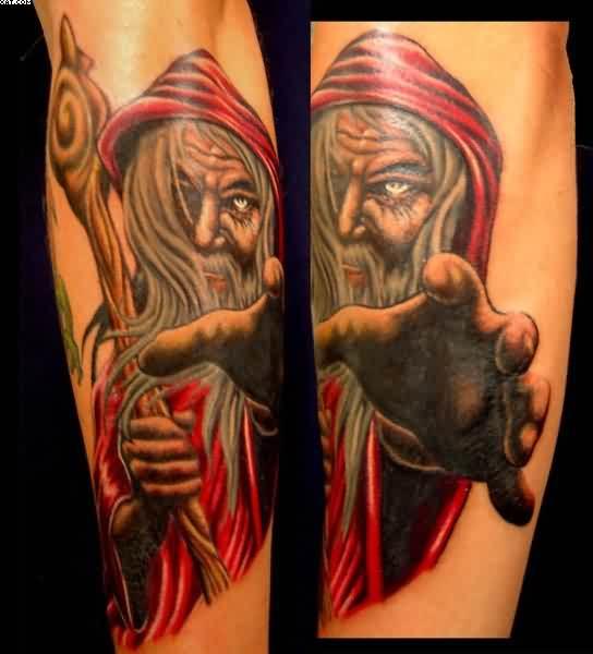 wizard tattoos photo - 9