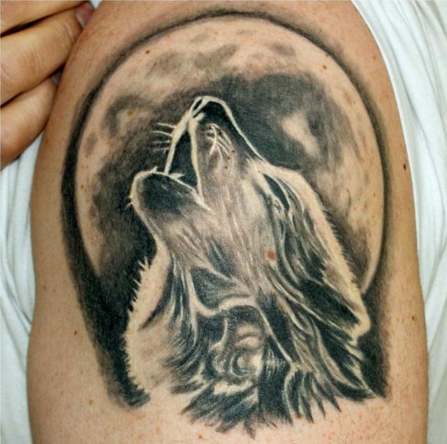 wolf tattoos photo - 10