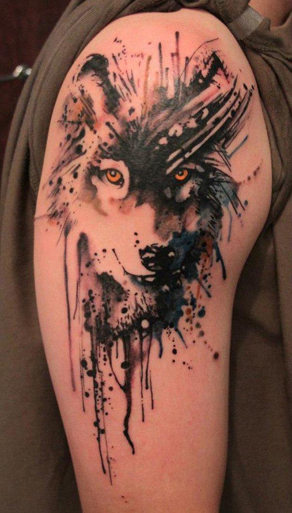 wolf tattoos photo - 11