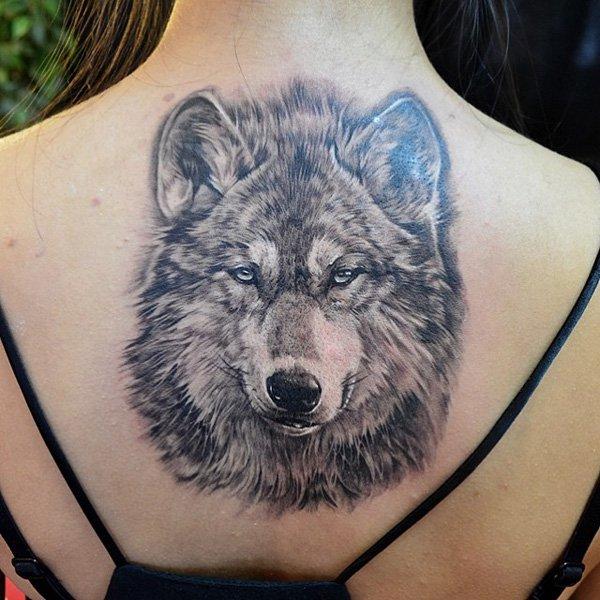 wolf tattoos photo - 14