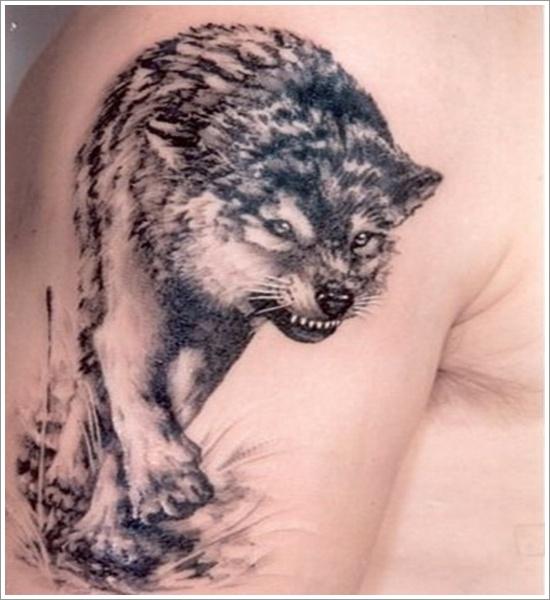 wolf tattoos photo - 17