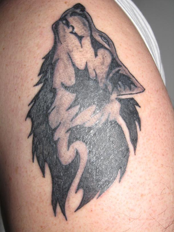 wolf tattoos photo - 18
