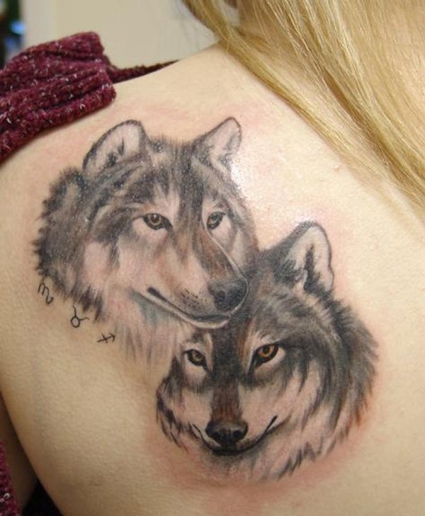 wolf tattoos photo - 19