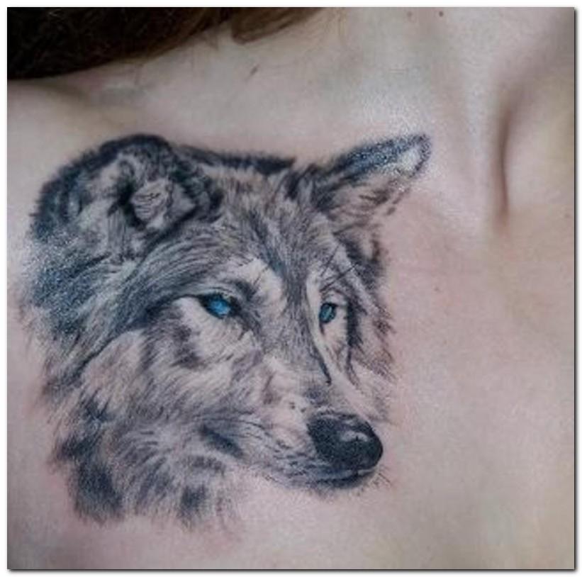 wolf tattoos photo - 2