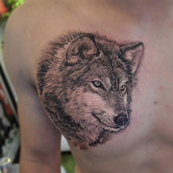 wolf tattoos photo - 20
