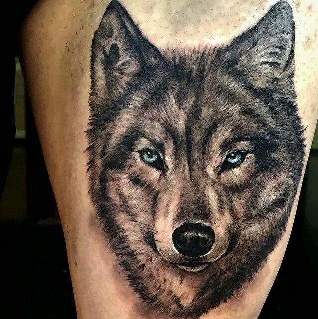 wolf tattoos photo - 26