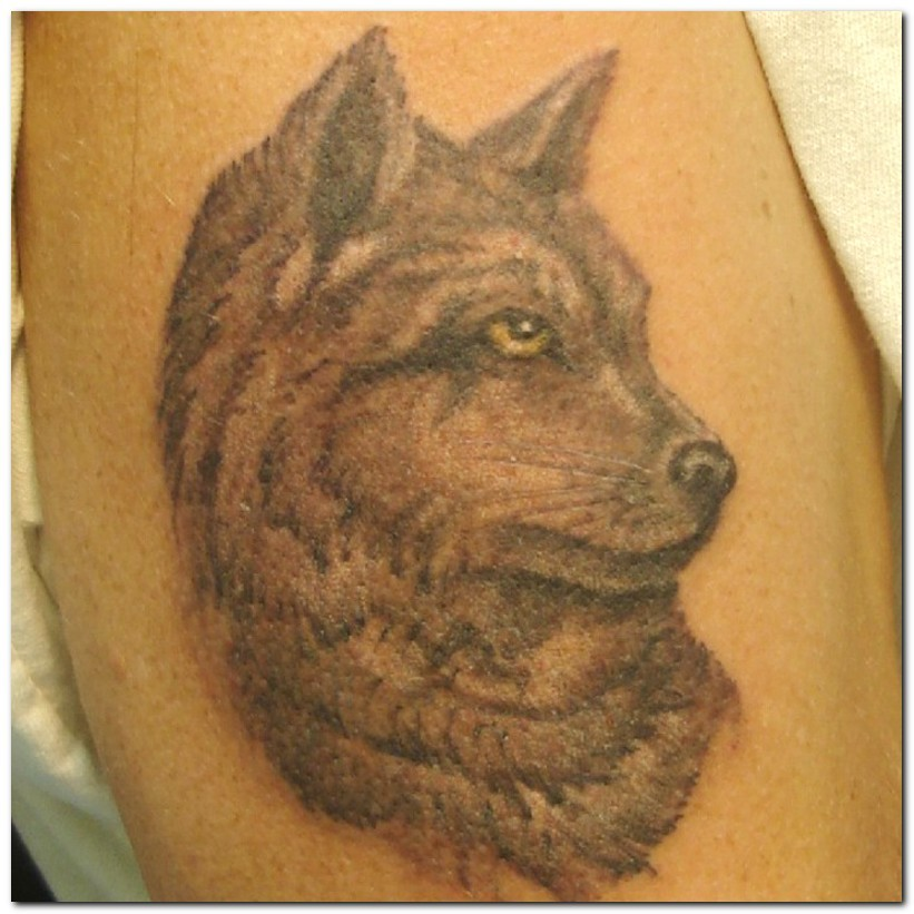 wolf tattoos photo - 28