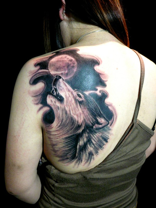 wolf tattoos photo - 29