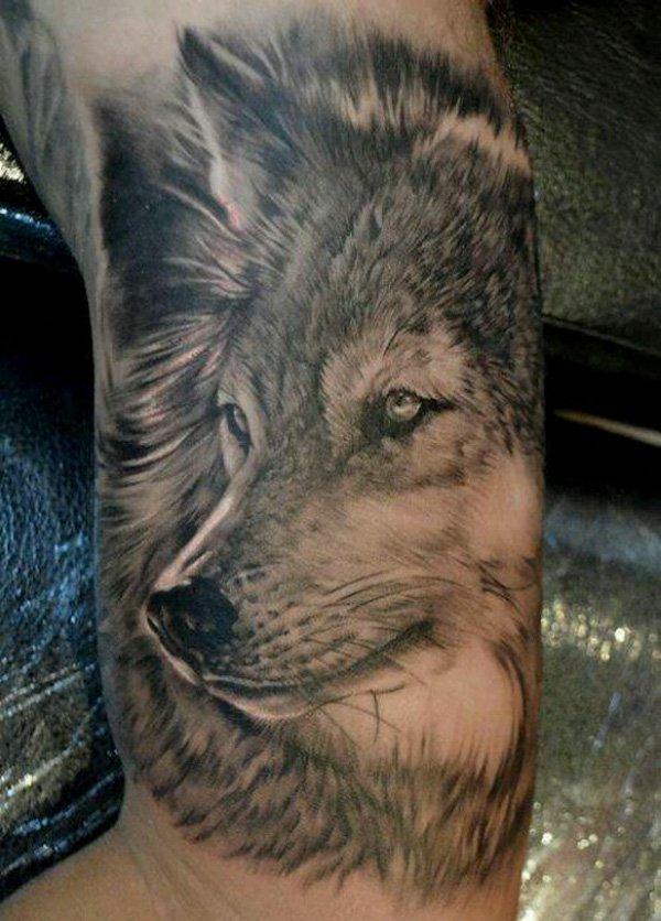 wolf tattoos photo - 3