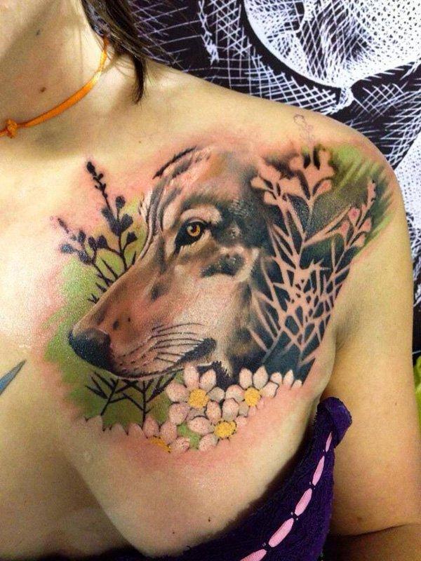 wolf tattoos photo - 30