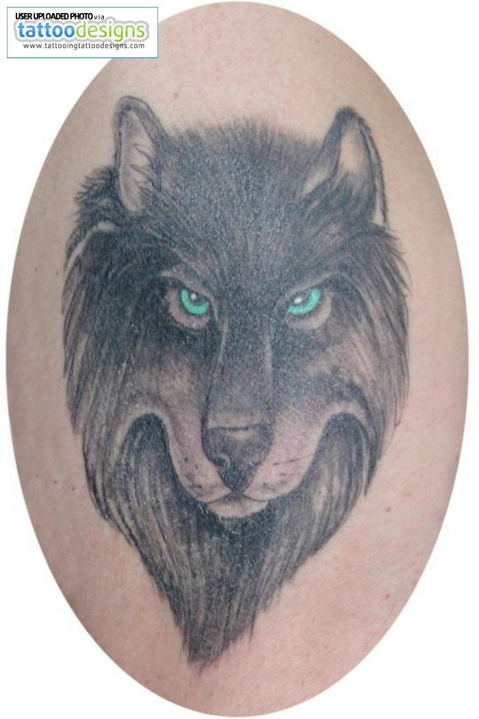 wolf tattoos photo - 36