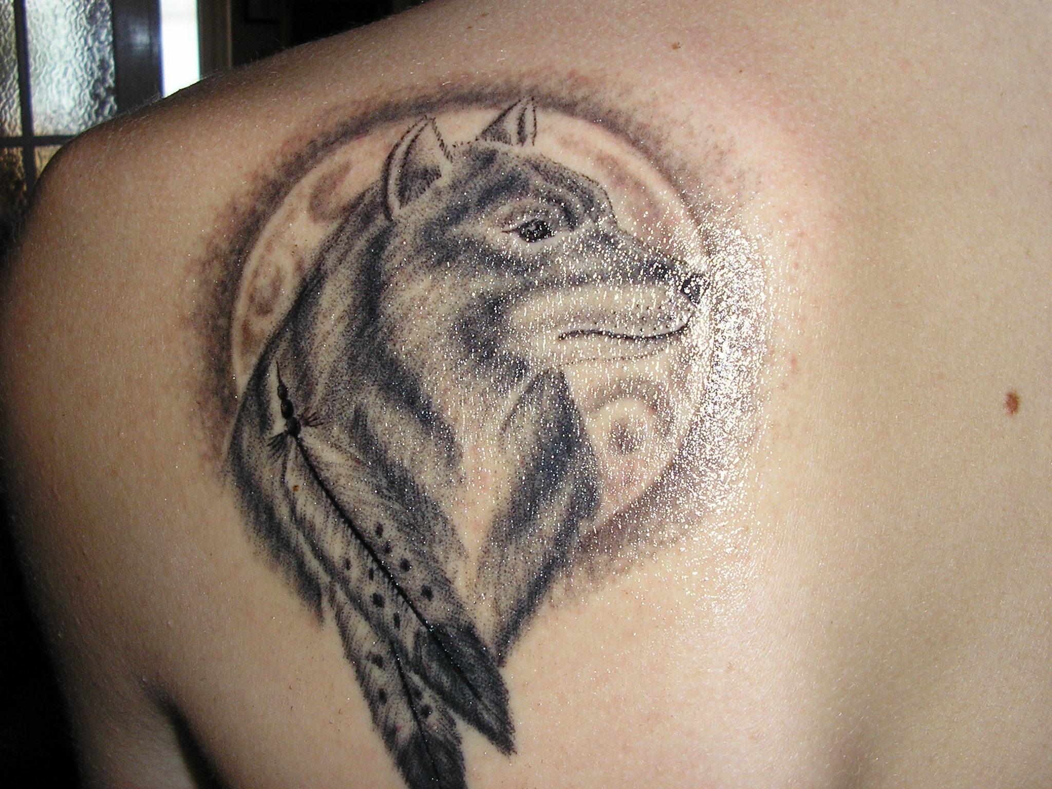 wolf tattoos photo - 8