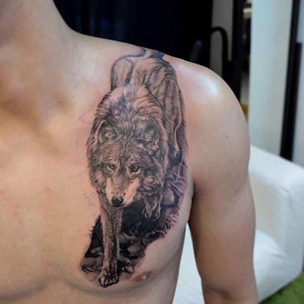 wolf tattoos photo - 9