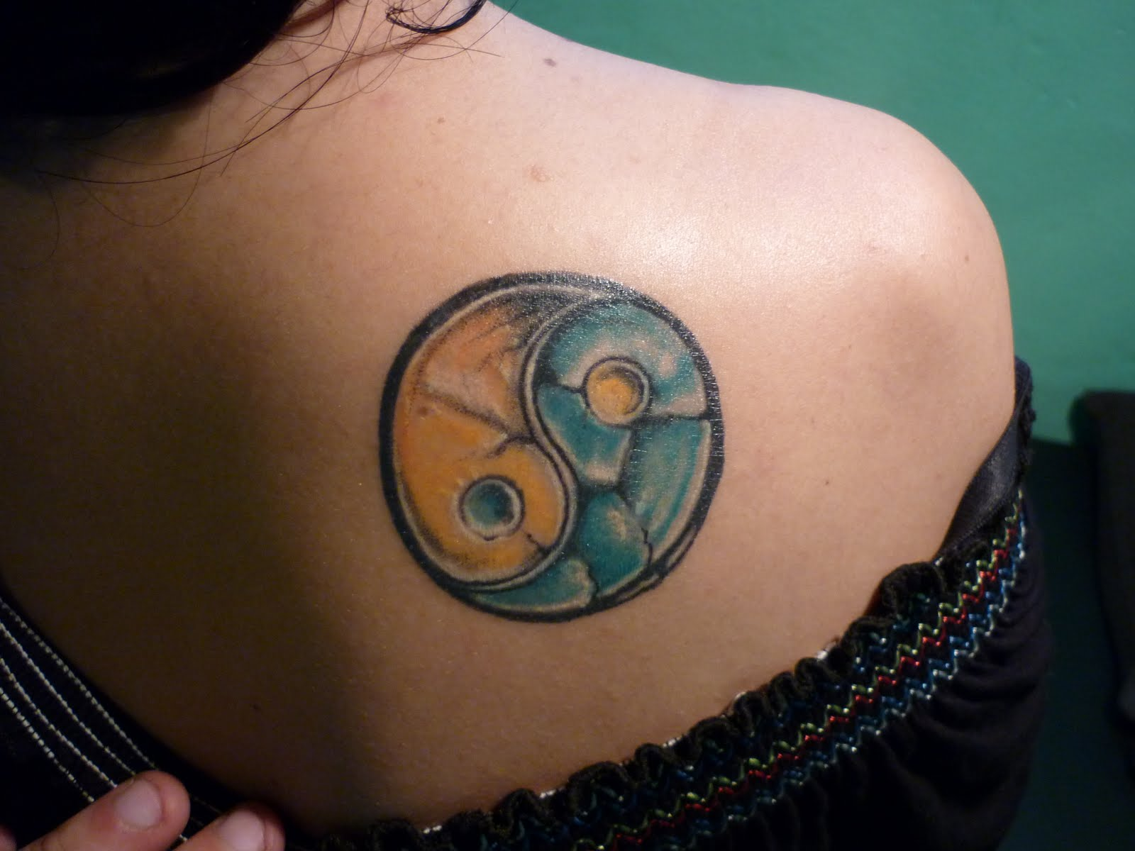 ying yang tattoos photo - 18