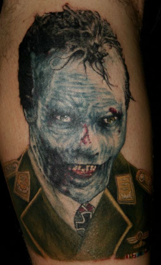 zombie tattoos photo - 1