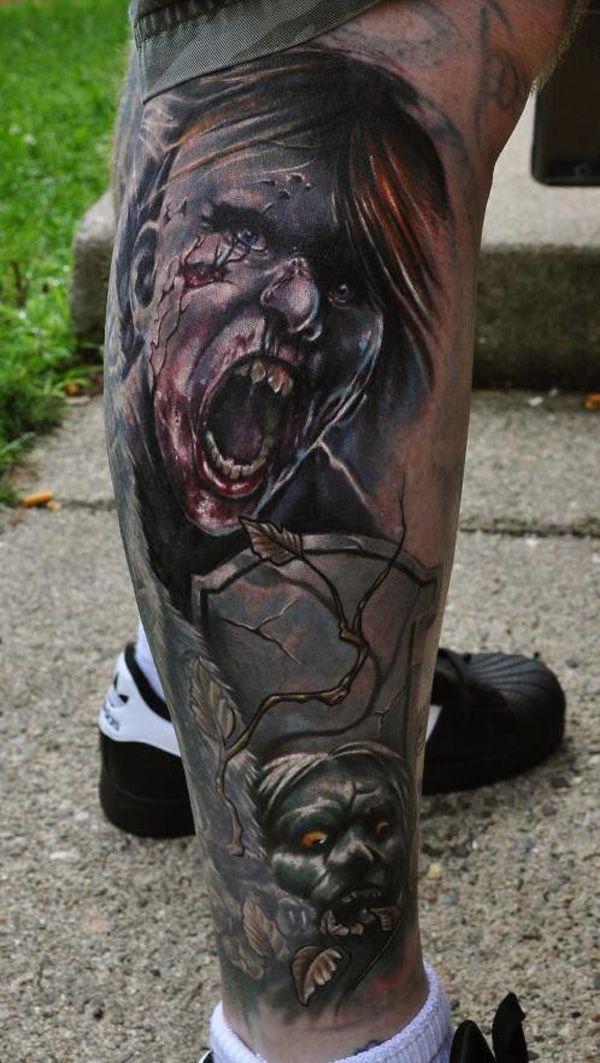 zombie tattoos photo - 11