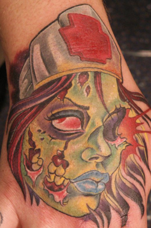 zombie tattoos photo - 12
