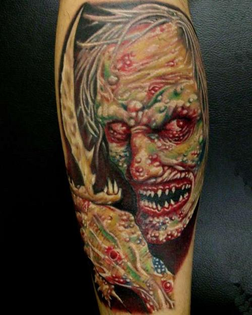 zombie tattoos photo - 13