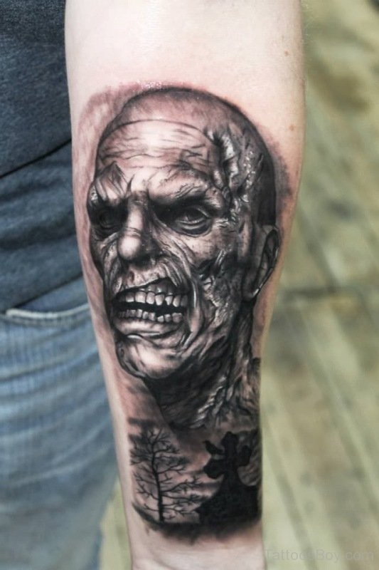 zombie tattoos photo - 15