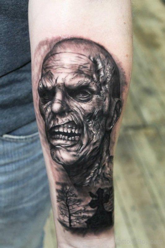 zombie tattoos photo - 15