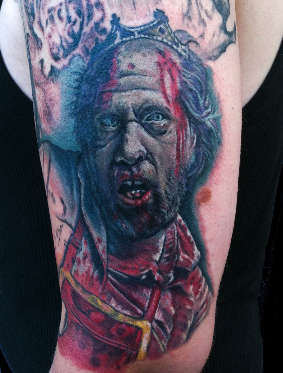 zombie tattoos photo - 17