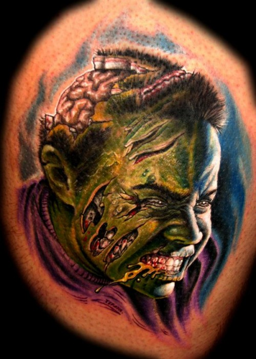 zombie tattoos photo - 2