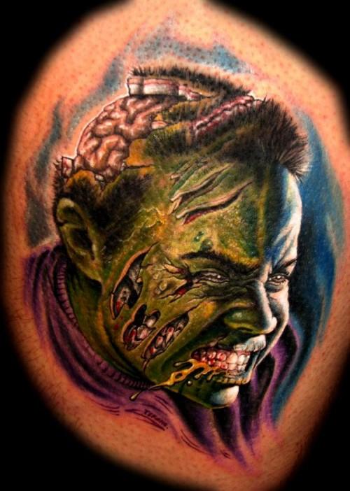 zombie tattoos photo - 2