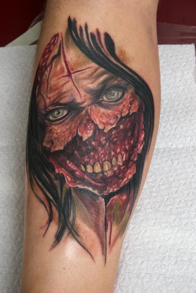 zombie tattoos photo - 20