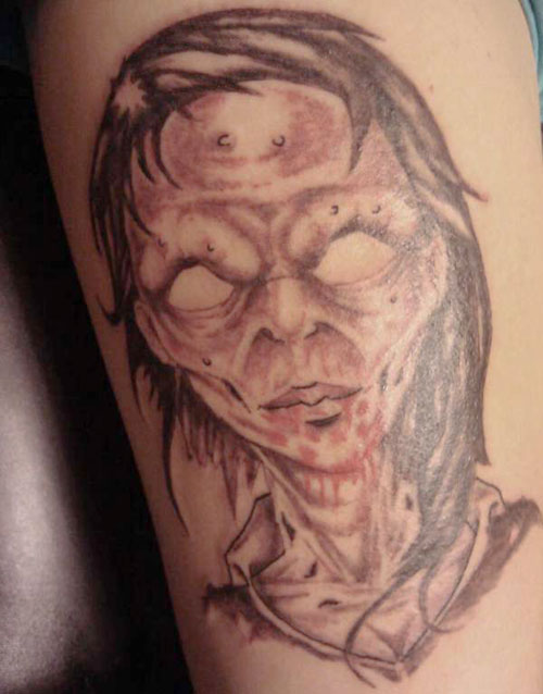 zombie tattoos photo - 21