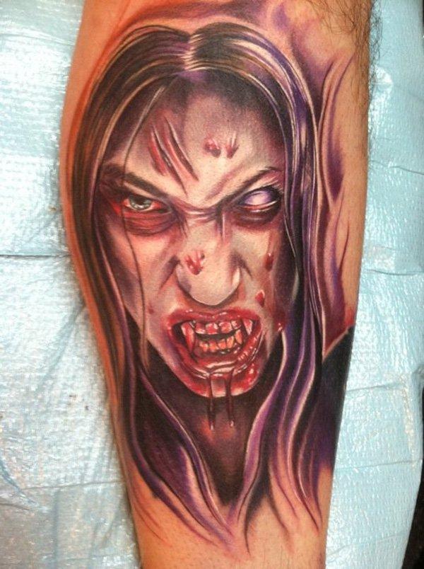 zombie tattoos photo - 22