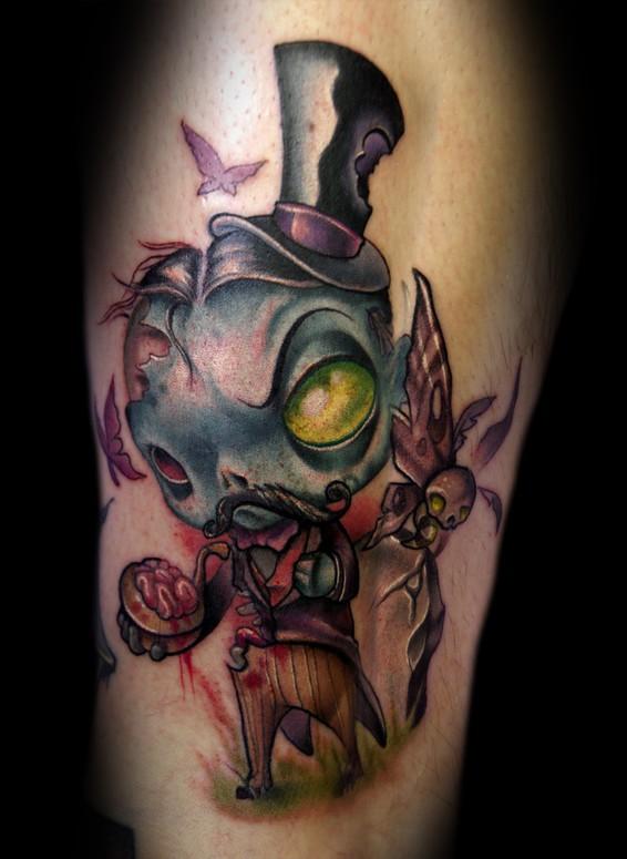 zombie tattoos photo - 23
