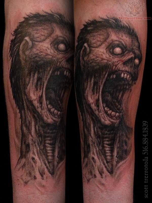 zombie tattoos photo - 25