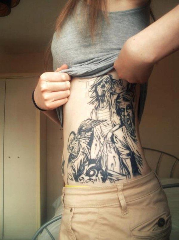 zombie tattoos photo - 26