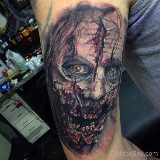 zombie tattoos photo - 27