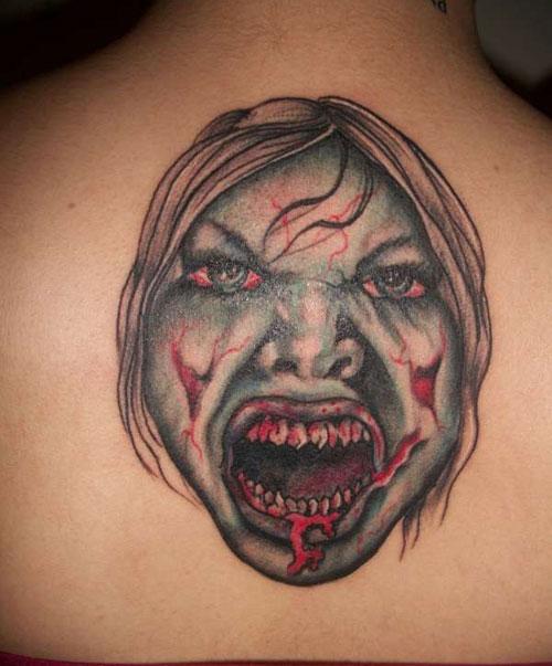 zombie tattoos photo - 28