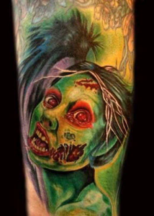 zombie tattoos photo - 3