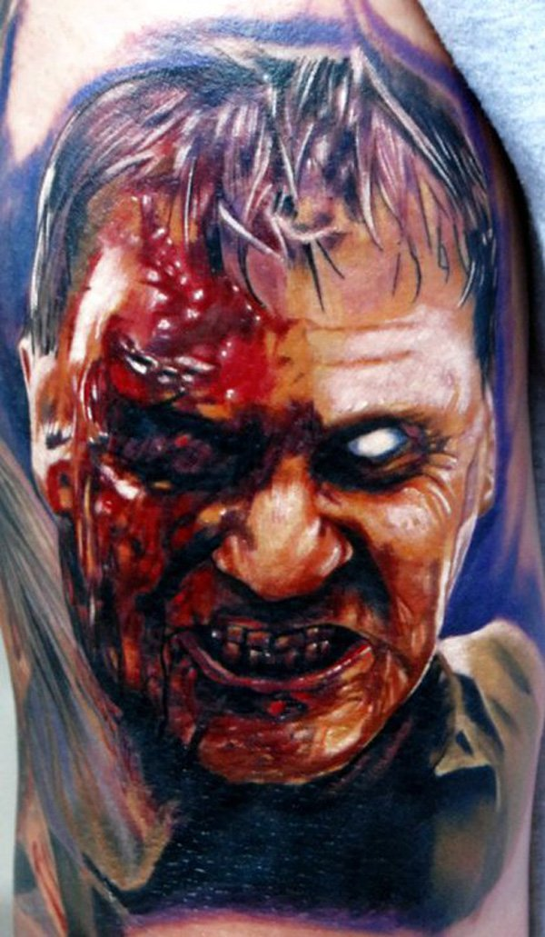 zombie tattoos photo - 30