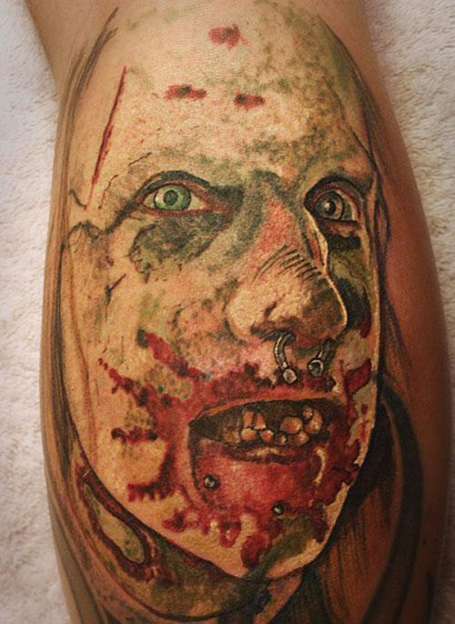 zombie tattoos photo - 32
