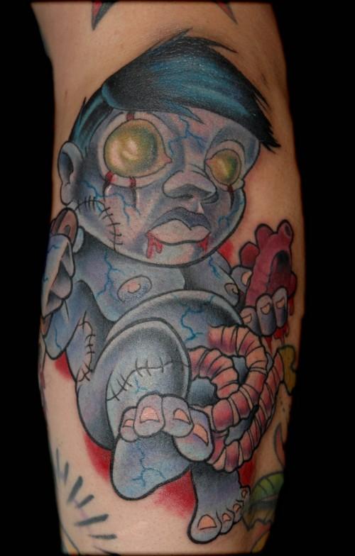 zombie tattoos photo - 33