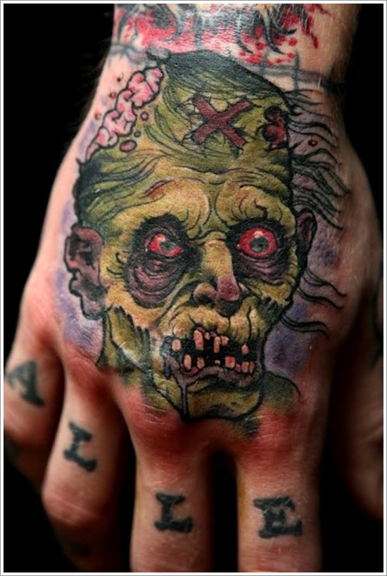 zombie tattoos photo - 5