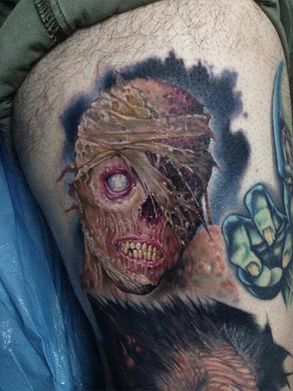 zombie tattoos photo - 6