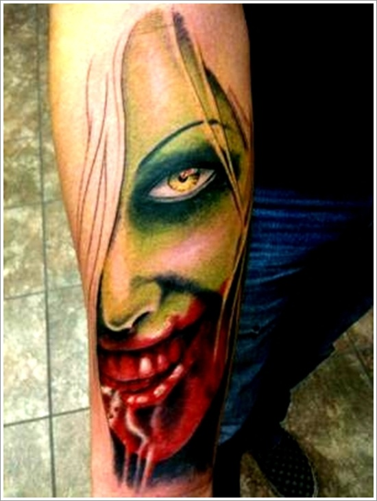 zombie tattoos photo - 7