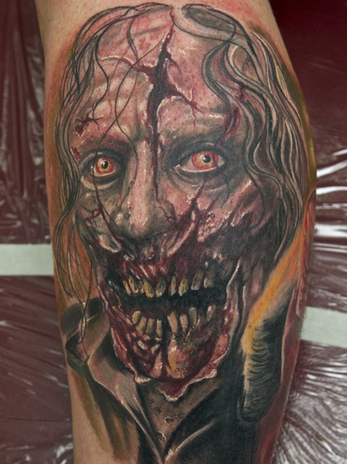zombie tattoos photo - 8