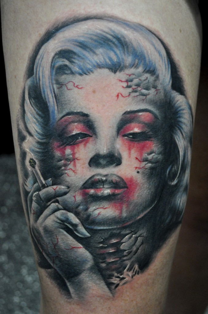 zombie tattoos photo - 9